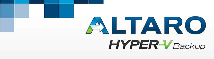 Altaro Hyper-V Backup - Unlimited Edition (Unlimited VMs / Hyper-V Host)