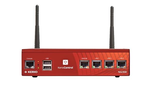 Kerio Control Box <br>Nejlepší síťový firewall
